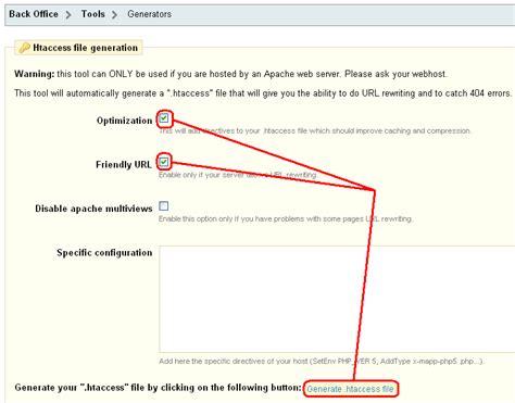 tutorial desain web menggunakan joomla cara menggunakan frendly url di prestashop 1 4 5