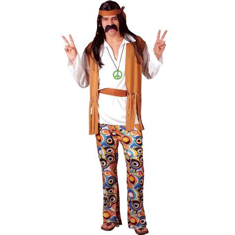 mens 60s 70s retro groovy cool hippie hippy