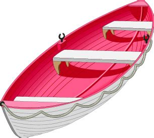 red boat clipart boat