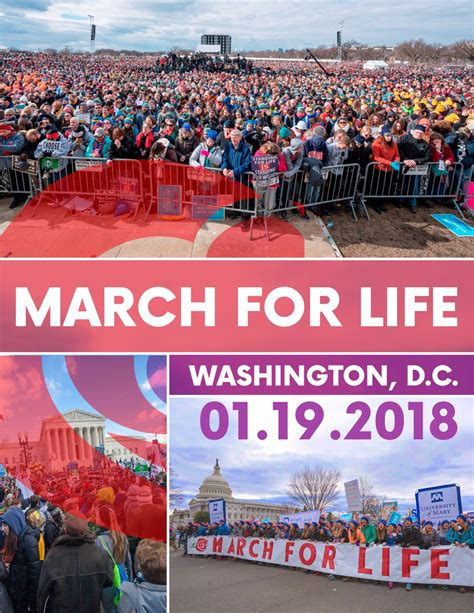 national right to life the nation s oldest largest pro life march for life 2018