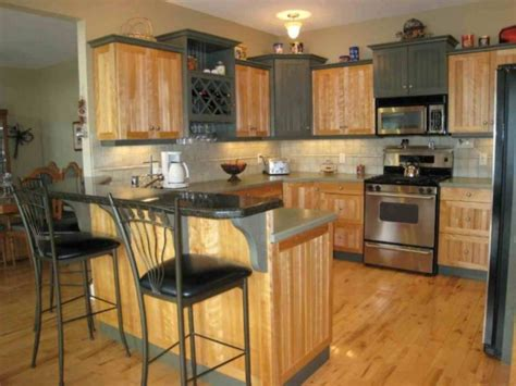Painting Laminate Kitchen Cabinets Before And After by Painting Laminate Kitchen Cabinets Before And After Home