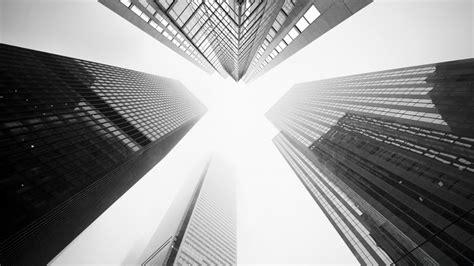 worms eye view  buildings hd black aesthetic wallpapers