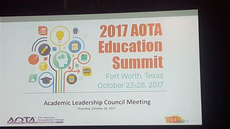 shp ot    aota educational summit occupational