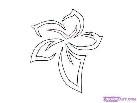 how to draw tribal tattoos step by step how to draw a tribal flower step by step tattoos