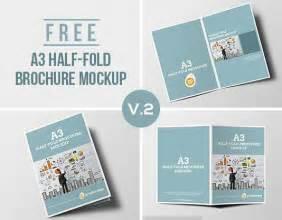 half fold brochure template free 2 best agenda templates