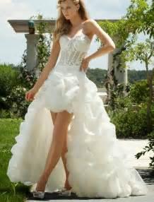 high low wedding dresses 2013 rainingblossoms popular high low wedding dresses are charming