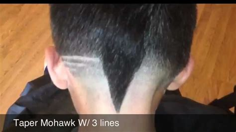 mohawk designs line haircut mohawk with line images