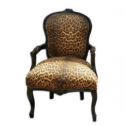 animal print chair i think from buy and