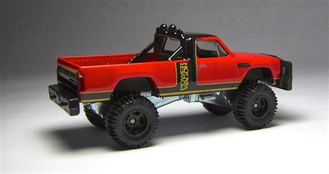 Hw Dodge Power Wagon car lamley look wheels retro entertainment 1980 dodge power wagon and