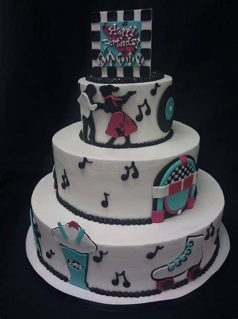 themed birthday cakes what s new at cheri s 50 s themed birthday cake