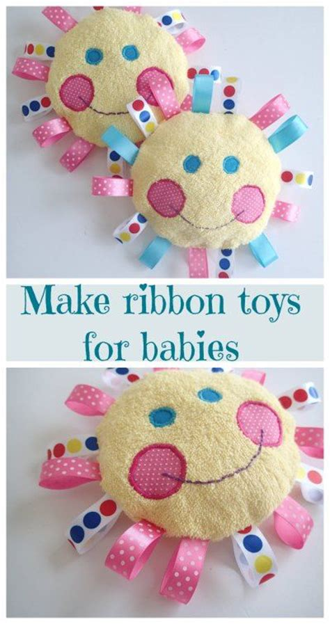 Handmade Toys For Babies - 17 best ideas about ribbon crafts on easy