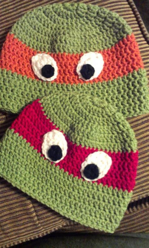 pattern for ninja turtle hat ninja turtle crochet the whoot