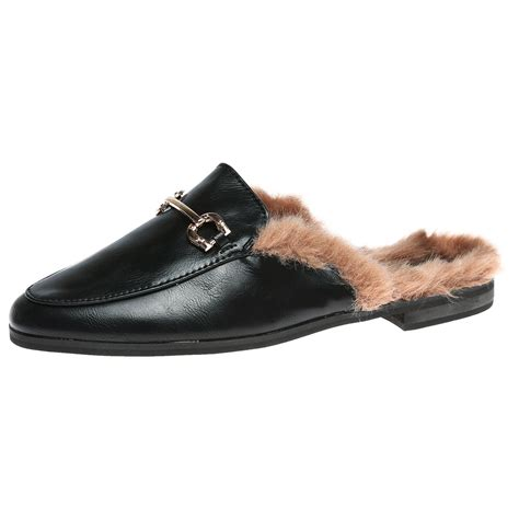 womens backless shoes womens shoes loafers backless mules open smart