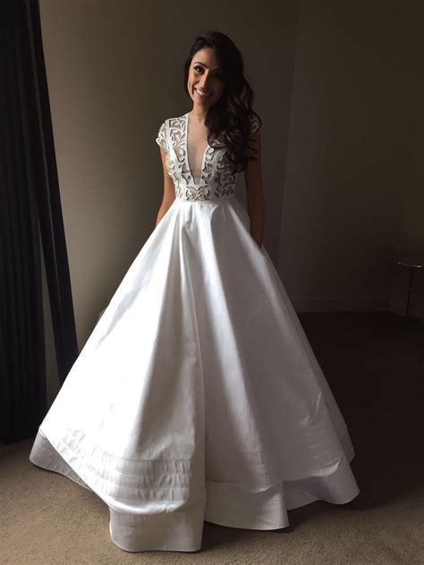 Alex Perry Wedding Gowns by Alex Perry Custom Made Second Wedding Dress On Sale