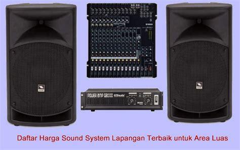 Daftar Mixer Sound System Murah harga sound system terbaik untuk lapangan dan gedung aula