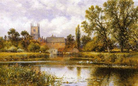 british paintings alfred augustus glendening snr millpond