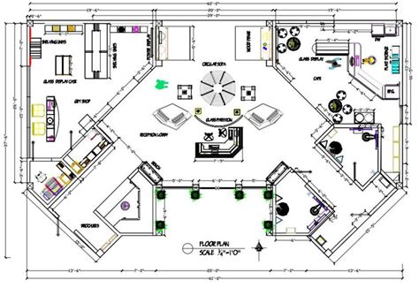 Gift Shop Floor Plan by Gallery