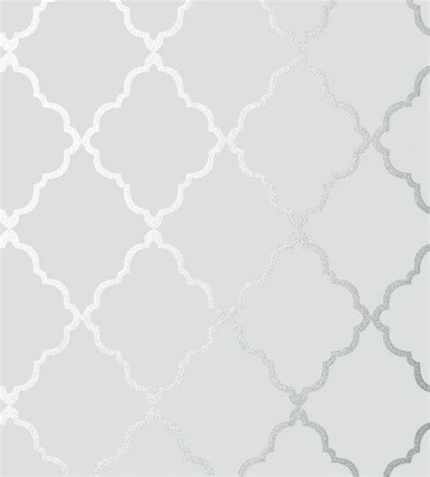 grey wallpaper the range klein trellis silver on grey wallpaper seraphina