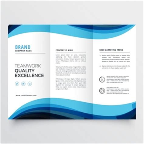 free tri fold business brochure templates trifold brochure vectors photos and psd files free