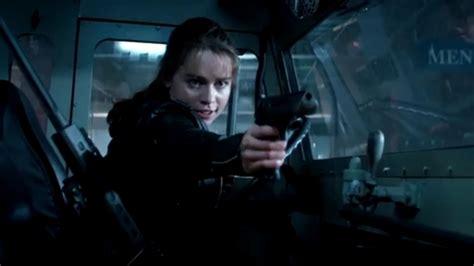 Kaos Terminator Genisys 18 wow so tough ist got emilia clarke in quot terminator genisys quot promiflash de
