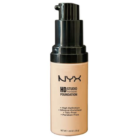 Nyx Foundation nyx hd studio photogenic foundation