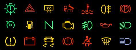 kontrollleuchten  fahrzeugen bussgeldkatalogede