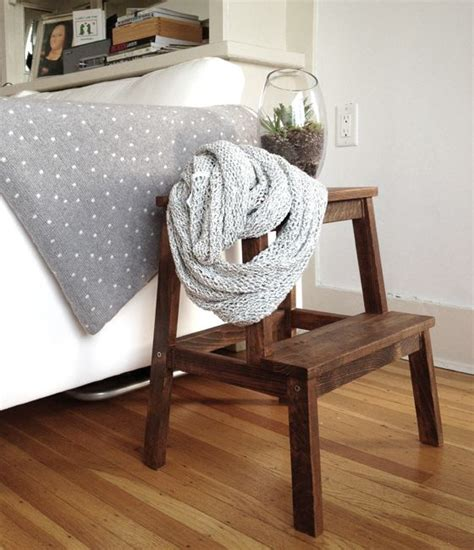 ikea bekvam stool spruced up step stool via dormer chic ikea bekvam transitions home staging and redesignone weekend project