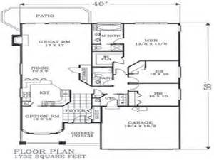 craftsman style open floor plans craftsman open floor plans craftsman bungalow floor plans