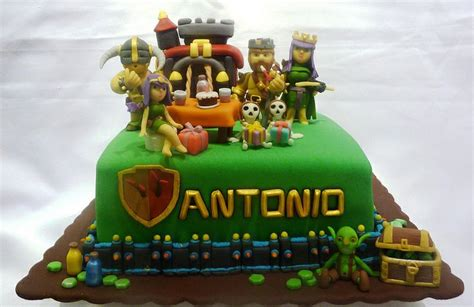 themes coc clash of clans cake keir s party pinterest hack tool