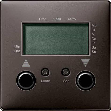 jalousie zeitschaltuhr merten 585115 jalousie zeitschaltuhr mit sensoranschluss