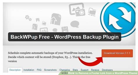 remove elegant themes link in footer how to remove a footer link from a wordpress theme 6 steps