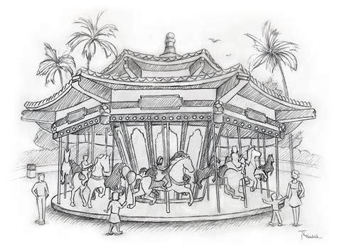 sketchbook park teri hendrich theme park concept sketches
