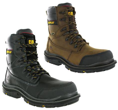 Caterpillar Low Safety Boots Black Caterpillar Doffer S3 Safety Work Boot