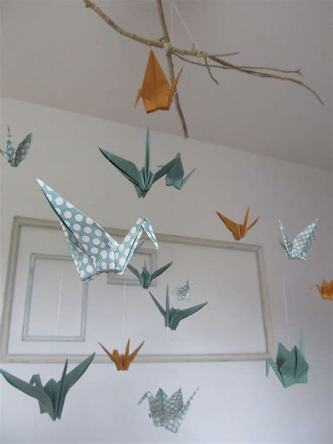 How To Make An Origami Mobile - les 25 meilleures id 233 es concernant mobiles d origami sur