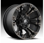 Fuel Vapor D569 Matte Black Machined W/ Dark Tint Custom