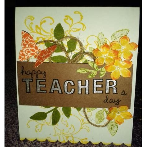 Handmade Greeting Cards For Teachers - best 25 teachers day greeting card ideas on
