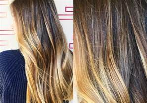 new hair color trends gloss smudge hair color trends 2017 summer