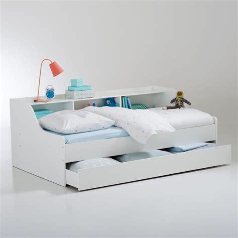 lit banquette avec tiroir lit banquette avec tiroir et rangements palma blanc la