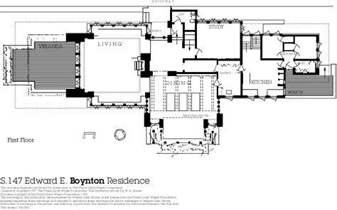 frank lloyd wright house floor plans 1st floor plan overview growing up in a frank lloyd