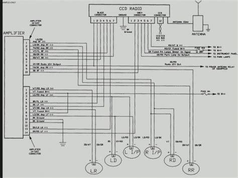 jeep wrangler radio wiring diagram