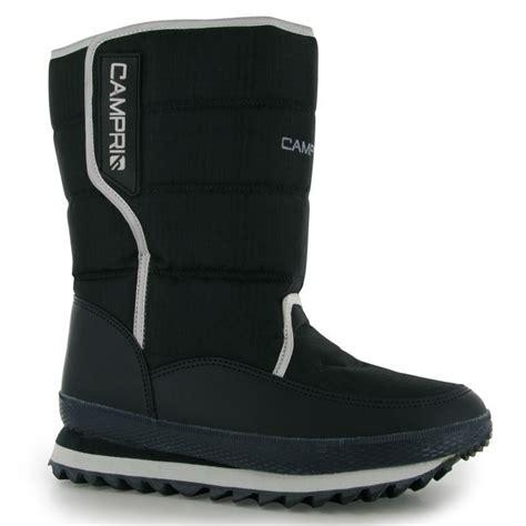 cri mens snow jogger boots casual hook and loop warm