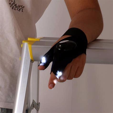 Sarung Tangan Elektrik sarung tangan lu led tangan kanan black