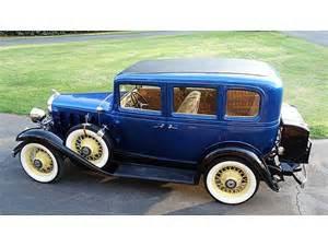 Chevrolet Sedan For Sale 1932 Chevrolet 4 Door Sedan For Sale Meridianville Alabama