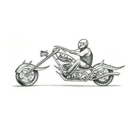 chopper tattoo custom chopper design tattoowoo