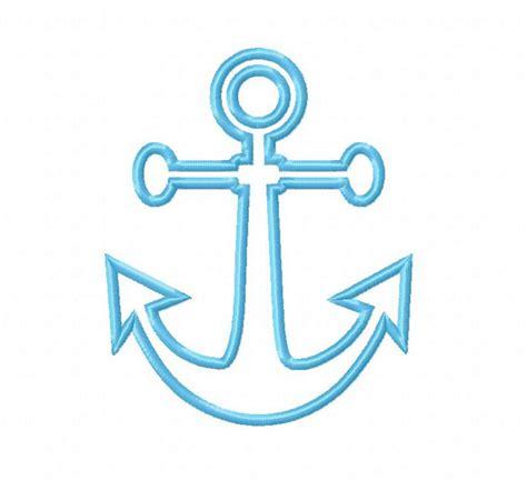Embroidery Design Anchor   anchor applique machine embroidery design