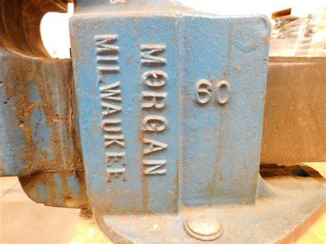 milwaukee bench vise west auctions auction complete liquidation of crutch
