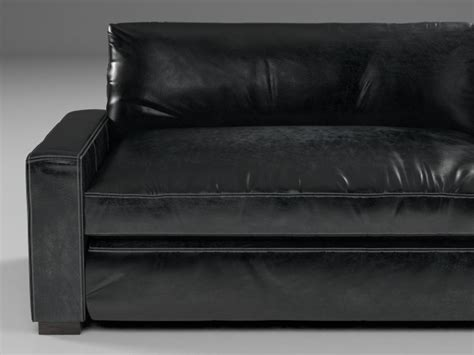 Maxwell Leather Sofa by 10 Maxwell Leather Sofa 3d Model Restoration Hardware