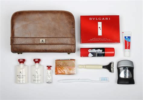 what are amenities the 5 top first class airline amenity kits