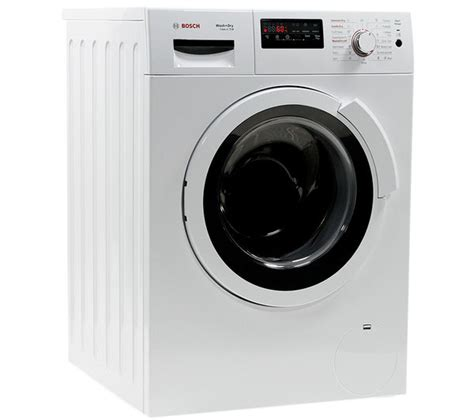bosch washer dryer buy bosch exxcel wvh28360gb washer dryer white free delivery currys