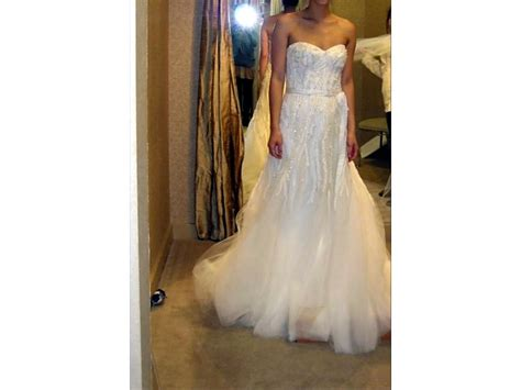 lhuillier wedding dress lhuillier 4 995 size 2 used wedding dresses